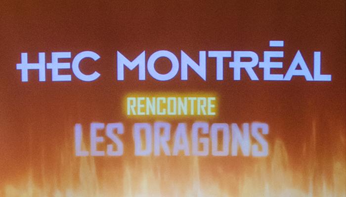 HEC rencontre les dragons
