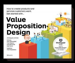 Le livre Value Proposition Design, paru récemment en librairie