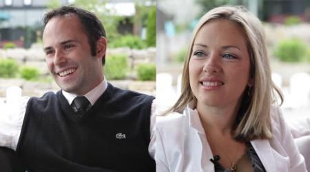 Anne Joyal et Guillaume Lemoine, co-fondateurs du Strom Spa