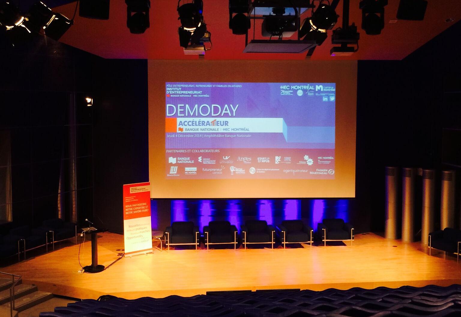 Demo day de la cohorte 2015 de notre programme d'accélération
