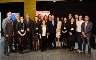 La cohorte 2015 de l'Accélérateur Banque Nationale-HEC Montréal