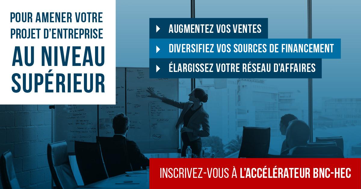 Séance d'information: Accélérateur Banque Nationale - HEC Montréal