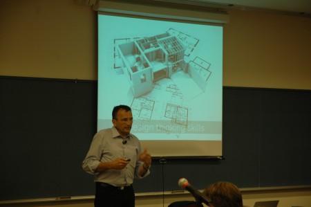 Yves Pigneur au mois d'août 2014 à HEC Montréal. Il présentait alors son nouvel ouvrage Value Proposition Canvas!