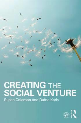 Professeur Dafna Kariv nous présente son nouveau livre «Creating The Social Venture»